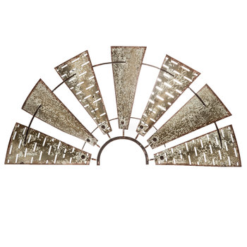 Windmill Metal Wall Decor